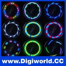 LED Motorcycle Cycling Bicycle Bike Wheel Signal Tire Bicycle Spoke Light