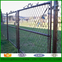 High quality outdoor security chain link playground fence / yard fence wall