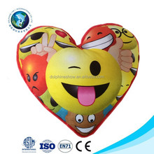 Cheap EN71 plush emoji pillow cushion new design fashion cute plush emoji pillow