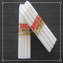 High quality pure wax tall thin candle manufacturer in China