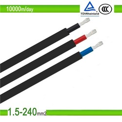 Xlpo insulation and Xlpo Jacket TUV 4mm2 Solar Panel Cable