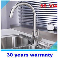 SS 304 kitchen sink faucets
