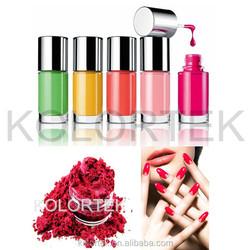 Kolortek nail art pigment powder, Mineral powder nails