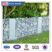 hexagonal stainless steel welded gabion box,wire mesh gabion basket