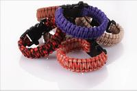 best selling survival paracord bracelet wholesale fashion paracord bracelet with whistle
