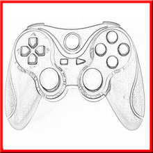 2015 Brand New Innovative products video games controller for playstation 3