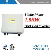 solar grid inverter 1.5KW also called on grid solar inverter used in grid tied solar power system