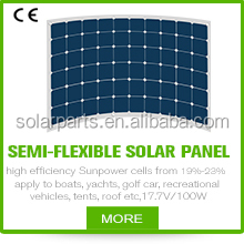 High efficiency sunpower solar panel