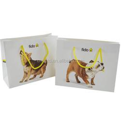 hot sale creative handbag advertising paper bag