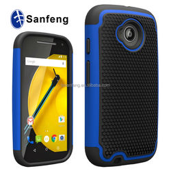High Quality Combo Covers Skin For Moto E2015, Silicone Cell Phone Covers Skins for Motorola Moto E2 XT1527
