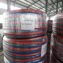 Hot Sale 20Bar Flexible Smooth Surface Rubber Twin Welding Hose