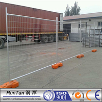 Welded mesh temporary fencing--hot dipped galvnaized temporary fencing panel