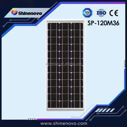 Reliable hot sale slim solar panel 120w for sale