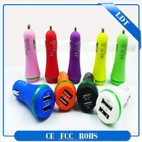 12V battery car charger 2015 Universal dual usb car charger