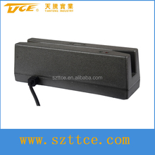 (TTCE-RU100) TTCE factory RS232/USB magnetic card reader with CE ROSH certificate