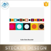 Stylish safe color bracelet non-toxic temporary tattoo