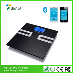 Unique electronic digital fat round body scales, liquid measuirement scale, mechanical body fat weighing scales
