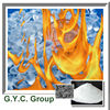 Halogen free flame retardant smoke suppression for PVC plastic rubber paint polymer