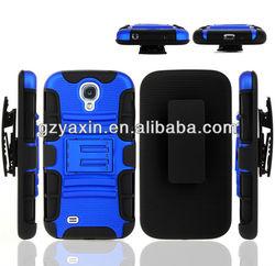 Belt Clip Case For Samsung Galaxy S4 Hybrid Cover / For Samsung Galaxy S4 i9500 Belt Clip Holster Case 2015 New Arrival