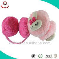 2014 Fashionable Wholesale Soft Plush Cute Lady'S Ear Muff
