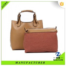 wholesale and retail woman Korean genuine leather handbag