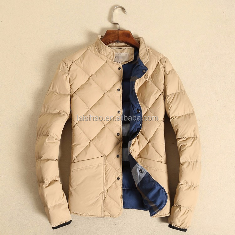 Quilted factory direct cheap clothing handwork factory connection clothing hot design mens puffer jacket