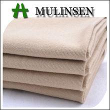 mulinsen textil de alta calidad teñido tejido libre de arrugas de algodón tejido de sarga