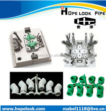 China low price and high quality PPR PVC PE PP ABS plastic injection fitting mould