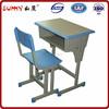 Adjustable design wood desktop desk and chair for child