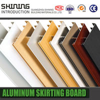 factory wholesale aluminum skirting board