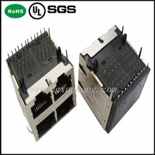 UL Approved High-voltage Connector Rj45 Panel Mount Connector