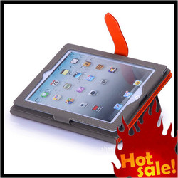 Factory Price best Quality Leather tablet smart cover case for ipad 2 3 4