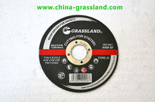 "4.5"" cutting disc for stainless steel supplier with MPA"