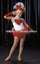 MB0909 Stunning Sequin lycra leotard children stage dance dress /tutu dress costume for child