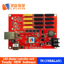 Hot sale LISTEN all new single color&dual color controller card with the most easiest LED eidt software