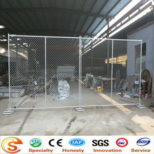 hot sale BWG11.5 HDG temporary chain link fence/ fencing/ best manufacturer
