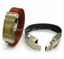 USB Flash with Promotional Gift Key Bracelet Pendrive Leather Plastic Wooden Credit Card Design Logo USB Flash