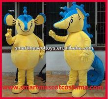 100% feedback positivo buona visione cavallo mare mascotte costume per adulti costume cavallo mare mascotte
