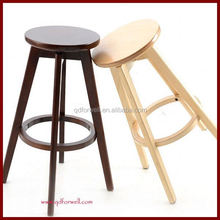 Adult Manual work solid wood bar chair/bar stool for Party and Wedding