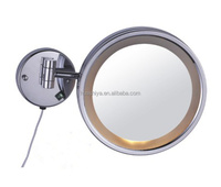 HSY-2078 wall mounted magnifying lighted electric makeup mirror