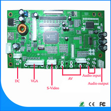 CVBS,S-Video RGB inputSupport Dual/single LVDS,single TTL lcd panel driver board