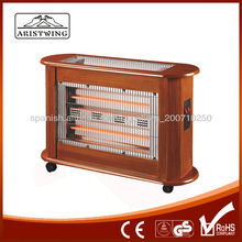 Calentador caso de madera funcional