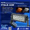 Newest design ambulance light bar 36W flash patterns lightbar ip68 led offroad light