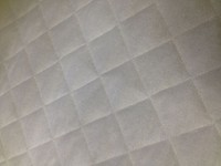 Bamboo Quilted Crib Pad - Baby Mattress Protector