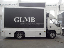 New led display truck, GLMB moving exhibition vehicle,led moving advertising car display