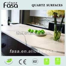 Calacatta artificial quartz countertop with NSF certificate