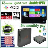 2015 cheapest Arabic IPTV box Arabic TV Box Android TV Box No Monthly Fee Arabic TV Box Support 400 HD Arabic channel
