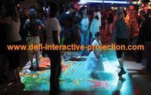Juego interactivo, piso interactivo/de proyección de la pared del sistema 78 con efectos para los niños juegan