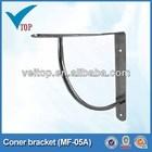 móveis de ferro canto triângulo aço suportes 05A