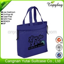 Popular top sell fashion eco pp non woven bag for packs